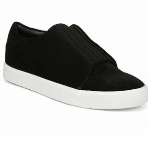 NEW Vince Cantara Suede Slip On Sneakers